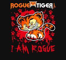 RogueTiger.com - Smirk Logo Red (dark) Unisex T-Shirt