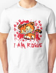 RogueTiger.com - Smirk Red (light) T-Shirt