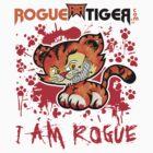 RogueTiger.com - Smirk Logo Red (light) by roguetiger