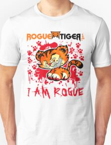 RogueTiger.com - Smirk Logo Red (light) T-Shirt