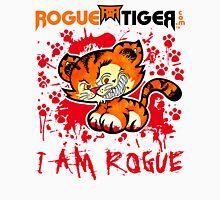 RogueTiger.com - Smirk Logo Red (light) Unisex T-Shirt