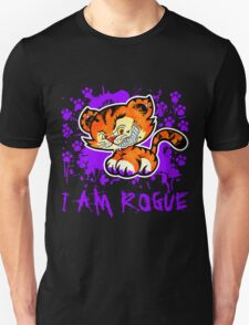 RogueTiger.com - Smirk Purple (dark) T-Shirt