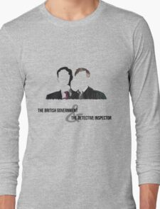 The British Government and the Detective Inspector Long Sleeve T-Shirt