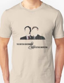 The British Government and the Detective Inspector Unisex T-Shirt