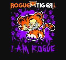 RogueTiger.com - Smirk Logo Purple (dark) Unisex T-Shirt