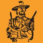 outlaw josie wales t-shirt by ralphyboy