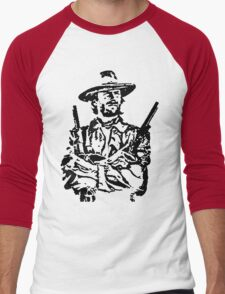 outlaw josie wales t-shirt Men's Baseball ¾ T-Shirt