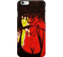 Thoughts in smoke iPhone Case/Skin