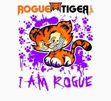 RogueTiger.com - Smirk Logo Purple (light) Unisex T-Shirt