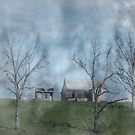 The Old Home On the Hill by barnsis