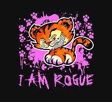 RogueTiger.com - Smirk Pink (dark) Unisex T-Shirt
