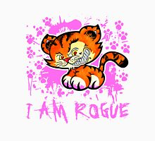 RogueTiger.com - Smirk Pink (light) Unisex T-Shirt