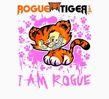 RogueTiger.com - Smirk Logo Pink (light) Unisex T-Shirt