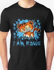 RogueTiger.com - Smirk Light Blue (dark) Unisex T-Shirt