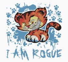 RogueTiger.com - Smirk Light Blue (light) by roguetiger