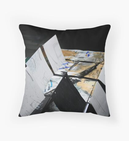 Daily Geologies - some pages for a new/old book Throw Pillow