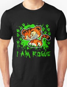 RogueTiger.com - Smirk Green (dark) T-Shirt
