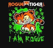 RogueTiger.com - Smirk Logo Green (dark) Unisex T-Shirt