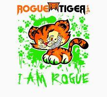 RogueTiger.com - Smirk Logo Green (light) Unisex T-Shirt