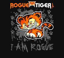 RogueTiger.com - Smirk Logo Gray (dark) Unisex T-Shirt