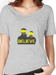 Believe. Women's Relaxed Fit T-Shirt