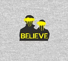 Believe. Mens V-Neck T-Shirt