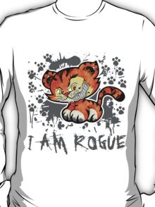 RogueTiger.com - Smirk Gray (light) T-Shirt