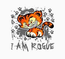RogueTiger.com - Smirk Gray (light) Unisex T-Shirt