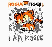 RogueTiger.com - Smirk Logo Gray (light) Unisex T-Shirt