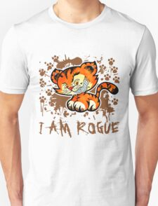 RogueTiger.com - Smirk Brown (light) T-Shirt
