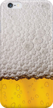 Beer Glass iPod / iPhone 4 Case by CroDesign