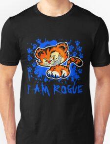 RogueTiger.com - Smirk Blue (dark) Unisex T-Shirt
