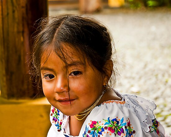 Faces of Ecuador 1 by Sue Ratcliffe