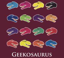 Geekosaurus by Louise Amber Morgan