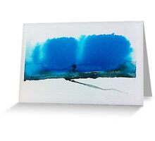 Landscape in Brush and Ink 2012 Greeting Card