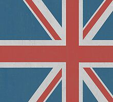 Union Jack iPhone Case by Alexandra Grant