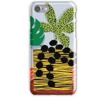 Cheeuh - hipster memphis throwback retro design minimal modern abstract shapes geometric trendy gift iPhone Case/Skin