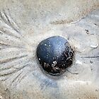 Sand-Patterned Pebble by RC deWinter