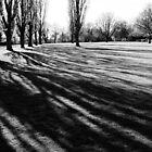 lawn at Sissinghurst Castle, Kent, England by bartfrancois