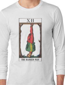 Hanged Man Tarot Long Sleeve T-Shirt