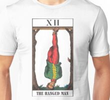 Hanged Man Tarot Unisex T-Shirt