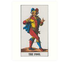The Fool Tarot Art Print