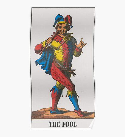 The Fool Tarot Poster