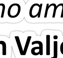 Jean Valjean Sticker