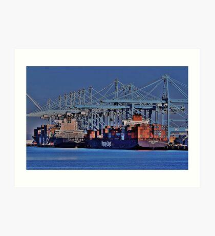 Imports/Exports Art Print