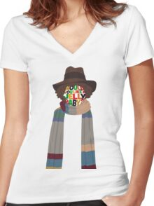 Would You Like A Jelly Baby? Women's Fitted V-Neck T-Shirt