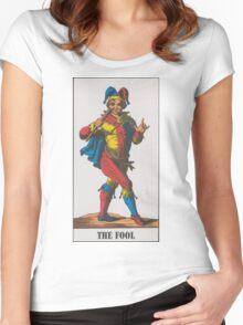 The Fool Tarot Women's Fitted Scoop T-Shirt