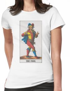 The Fool Tarot Womens Fitted T-Shirt