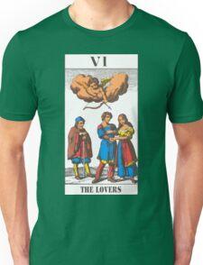The Lovers Tarot Unisex T-Shirt