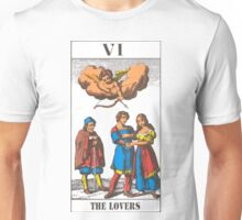 The Lovers Tarot Unisex T-Shirt